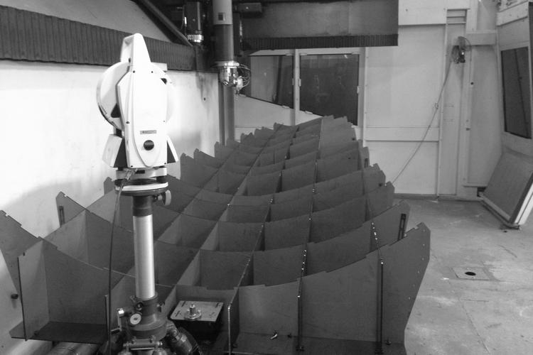 mesure laser en exterieur