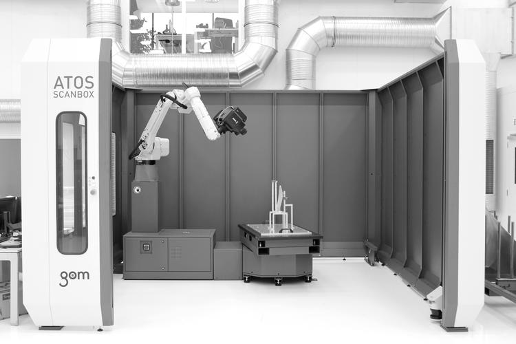 cellule de scanning robotisée